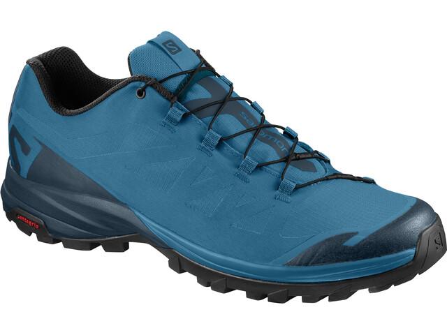 Salomon Outpath Shoes Herren fjord blue/reflecting pond/black